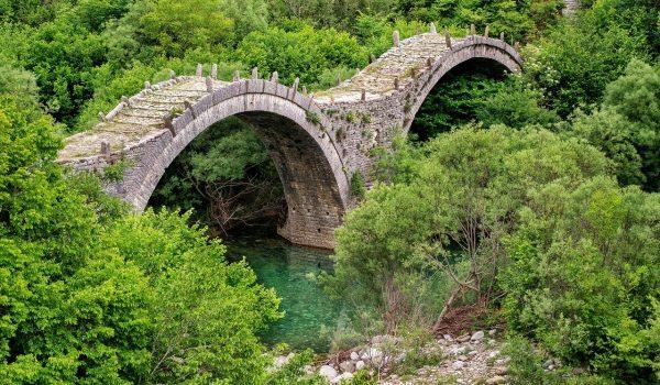beautiful landscape, bridge, green
